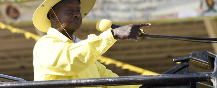 FILE: Ugandan President Yoweri Museveni. Picture: Isaac Kasamani/AFP.