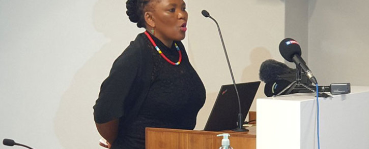 Western Cape Health MEC Nomafrench Mbombo. Picture: @WCHealthMEC/Twitter