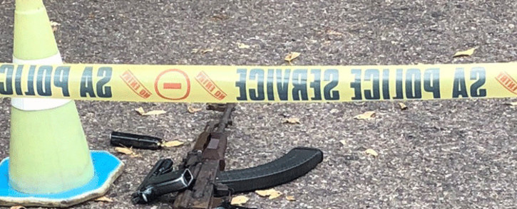 Police have confirmed two suspects have been shot dead and four others have been arrested in a robbery at the Edenvale High School. Picture: @Lesufi/Twitter.