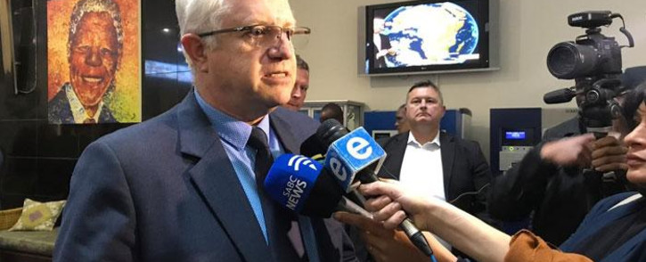 Western Cape MEC for Economic Opportunities Alan Winde at a DA briefing on 19 September 2018. Picture: Cindy Archillies/EWN