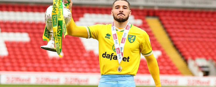 Argentine international forward Emiliano Buendia during his time with Norwich City. Picture: @EM10Buendia/Twitter