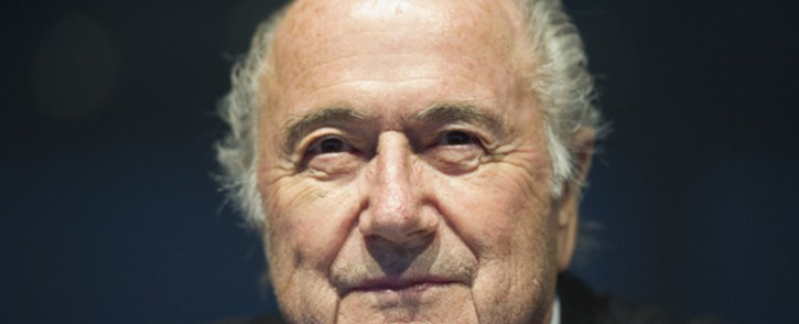 FILE: FIFA President Joseph Sepp Blatter attends the Ordinary UEFA Congress in Vienna, Austria on 24 March, 2015. Picture: AFP.
