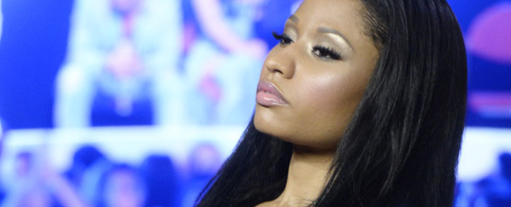 Rapper Nicki Minaj. Picture: EPA.