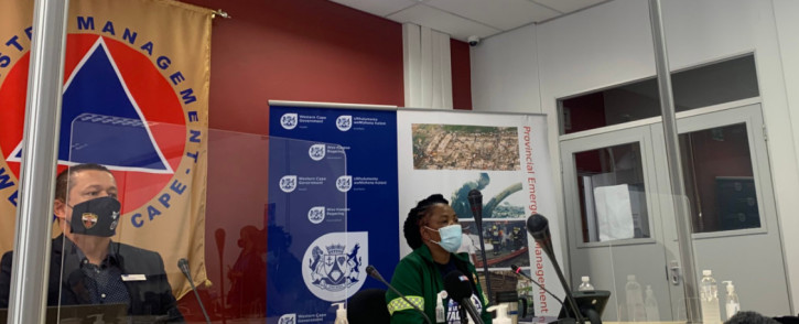 The Western Cape Health Department is commemorating the one-year anniversary of the first reported case of COVID-19 in the province. On 11 March 2020, the province had its first COVID-19 case. Picture: Kaylynn Palm/Eyewitness News