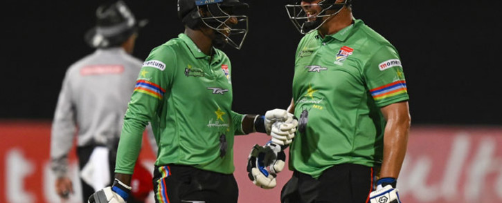 Dolphins batsmen during a One Day Cup match. Picture: @OfficialCSA/Twitter