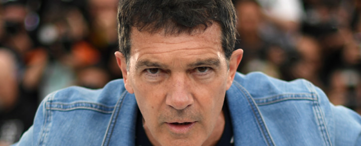 "Spanish actor Antonio Banderas poses during a photocall for the film ""Dolor Y Gloria (Pain and Glory)"" at the 72nd edition of the Cannes Film Festival in Cannes, southern France, on 18 May 2019. Picture: AFP"