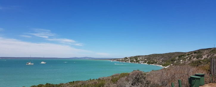 A view of the Langebaan lagoon from Kraalbaai in the West Coast National Park. Picture: Zunaid Ismael/EWN