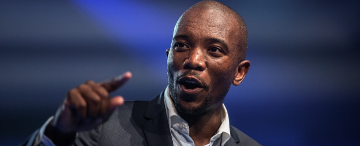 Mmusi Maimane, the newly elected leader of South Africa's main opposition Democratic Alliance. Picture: AFP.