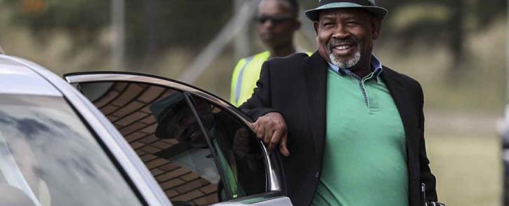 Eskom chairperson Jabu Mabuza arrives at Lethabo Power Station. Picture: Abigail Javier/EWN.