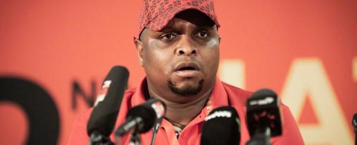 FILE: The EFF's Floyd Shivambu. Picture: Sethembiso Zulu/EWN