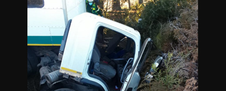 Five people have died in a collision near Villiersdorp involving a truck and another vehicle on 7 September 2021. Picture: Supplied.