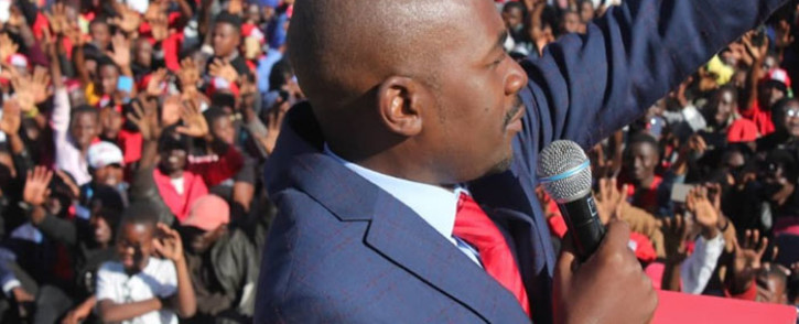 FILE: MDC Alliance leader Nelson Chamisa. Picture: @nelsonchamisa/Twitter.