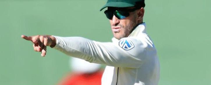 Proteas captain Faf du Plessis. Picture: ICC.