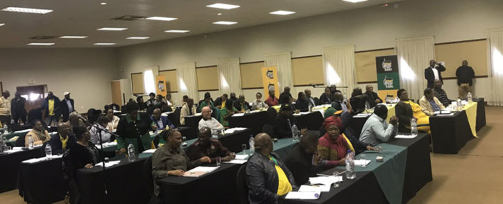 Members of the ANC during the NEC meeting in Pretoria. Picture: Clement Manyathela/EWN.