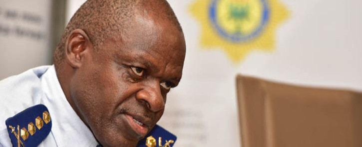 National Commissioner of Police, General Khehla Sitole. Picture: GCIS
