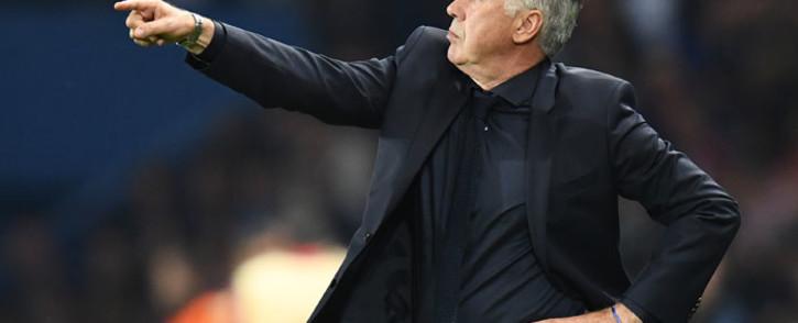 FILE: Everton coach Carlo Ancelotti. Picture: AFP