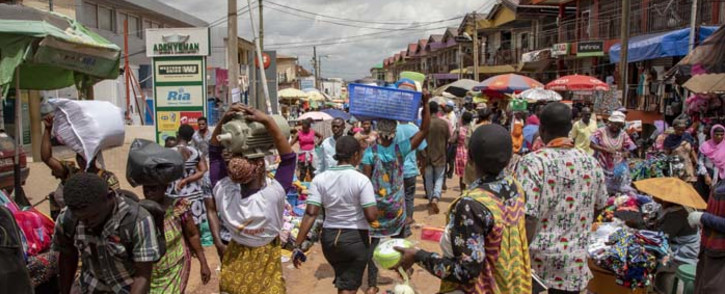 The informal sector is a significant contributor to Ghana's economy. Picture: Thomas Holder/Primedia