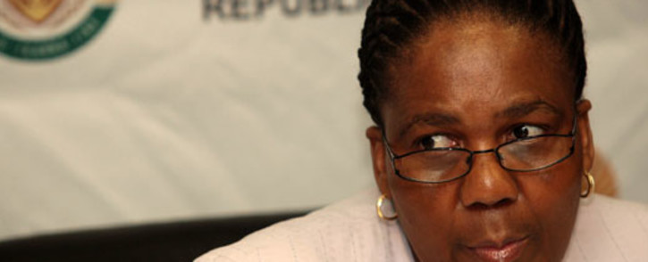 Transport Minister Dipuo Peters. Picture: EWN.