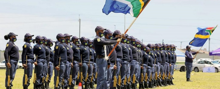 Police minister Bheki Cele launched the Western Cape safer season on 24 October 2021. Picture: SAPS.