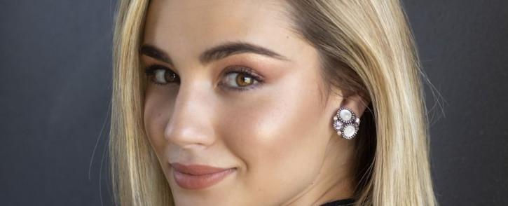 Bianca Schoombee, Miss SA 2020 hopeful.