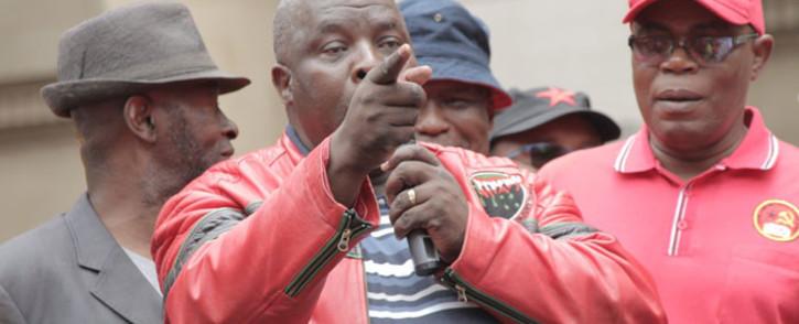 Nehawu president Mzwandile Makwayiba. Picture: @NEHAWU/Twitter