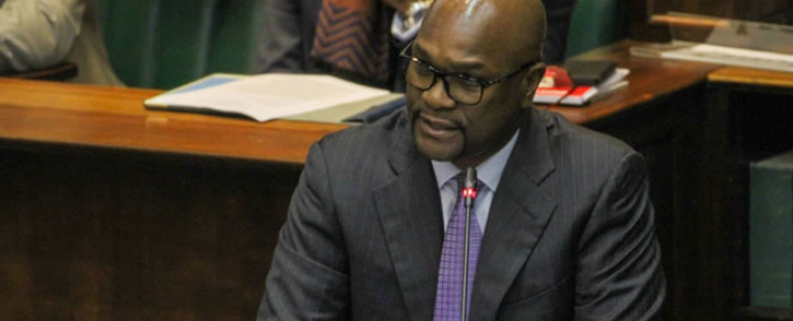 FILE: Arts and Culture Minister Nathi Mthethwa tables his department's budget in Parliament on 16 July 2019. Picture: @ArtsCultureSA/Twitter