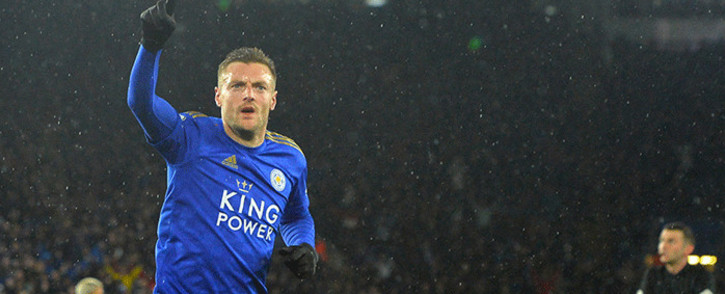 Leicester City's Jamie Vardy. Picture: @LCFC/Twitter.