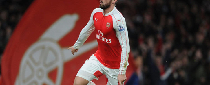 Arsenal's forward, Olivier Giroud. Picture: Official Arsenal Facebook page.