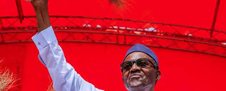 Nigeria's President Muhammadu Buhari. Picture: @MBuhari/Twitter