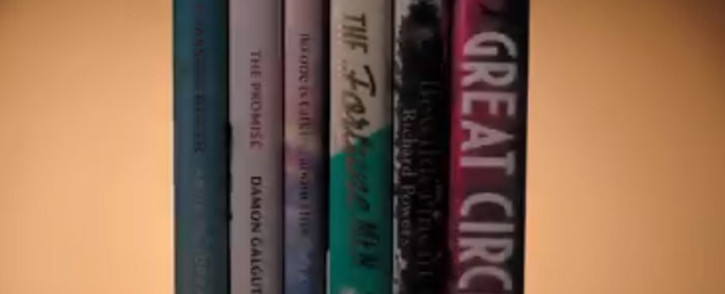A screengrab of the six novels shortlisted for the 2021 Booker prize. Picture: @TheBookerPrizes/Twitter