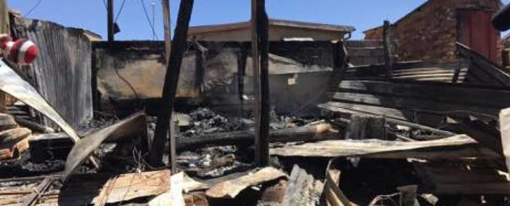 FILE: Shack fire. Picture: EWN