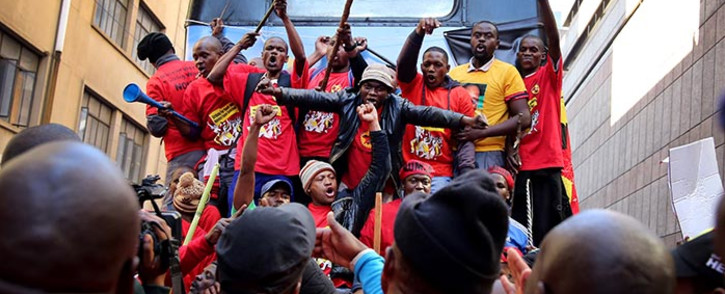 FILE: Numsa is protesting against what it termed as racist and dastardly lockouts by Neasa companies. Picture: Sebabatso Mosamo/EWN.