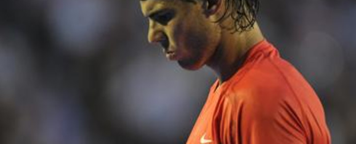 World number two Rafael Nadal. Picture: AFP