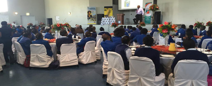 FILE: The vice-chancellor of the University of the Free State addressed 90 learners, all recipients of Sanral scholarships, at the Centre of Science and Technology. Picture: Monique Mortlock/EWN
