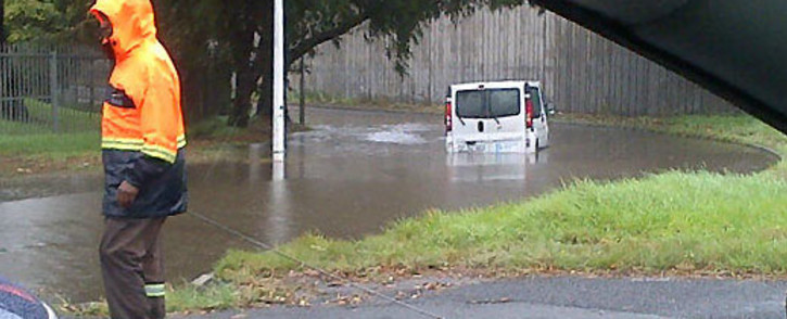 Officials believe an early warning system will be key in mitigating the risk of flooding. Picture: iWitness/@ek_capetown