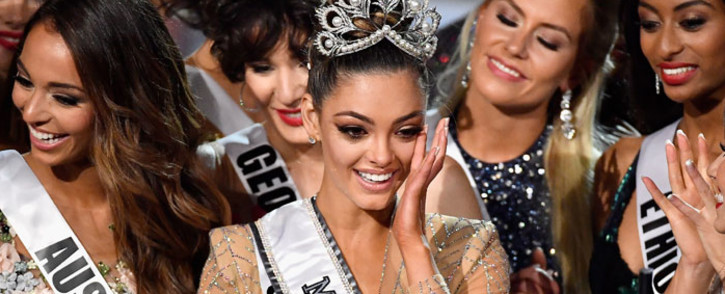 Miss South Africa Demi-Leigh Nel-Peters has been crowned Miss Universe 2017. Picture: AFP