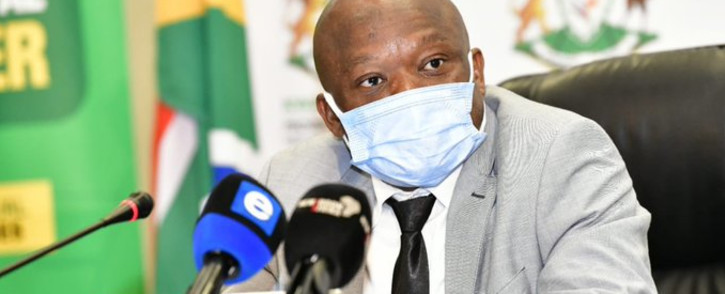 FILE: KZN premier Sihle Zikalala during his brief on the government's efforts to restore the economy and communities in the province on Saturday, 24 July 2021. Picture: Twitter/@kzngov