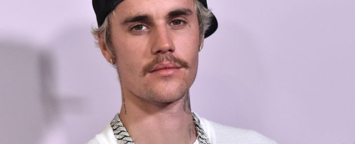 "Canadian singer Justin Bieber arrives for YouTube Originals' ""Justin Bieber: Seasons"" premiere at the Regency Bruin Theatre in Los Angeles on 27 January 2020. Picture: AFP"