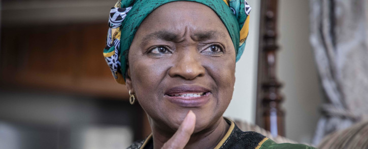 FILE: ANC Women's League president Bathabile Dlamini. Picture: Abigail Javier/EWN