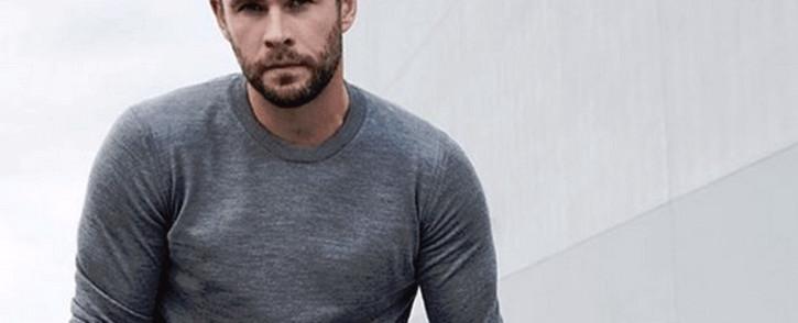 Actor Chris Hemsworth. Picture: @chrishemsworth/Twitter
