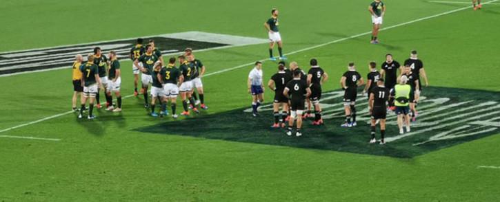Springboks VS All Blacks in Wellington. Picture: Cindy Poluta/EWN.