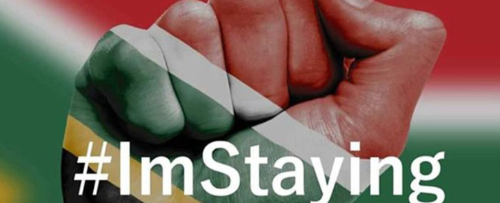 The #ImStaying campaign has raised more than R90,000 to 'boost the economy'. Picture: facebook.com
