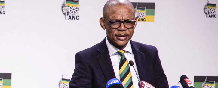 FILE: ANC spokesperson Pule Mabe. Picture: EWN.