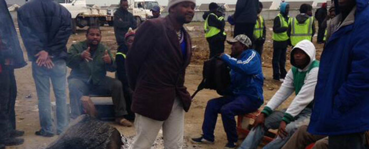Nomzamo residents were evicted from land owned by the South African National Roads Agency Limited (Sanral) in Strand. Picture: Lauren Isaacs/EWN