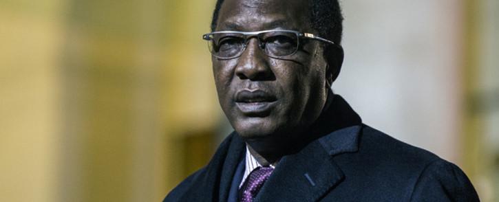 Chadian President Idriss Deby. Picture: EPA.