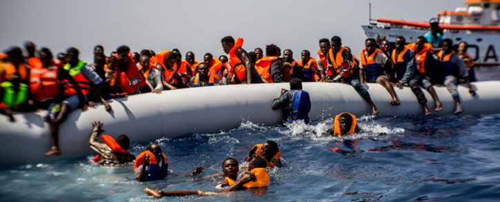 According to the International Organization for Migration (IOM) at least 4,592 migrants reportedly died or disappeared during migratory routes across the globe, down 20% from 2017, and over 8,000 in 2016. Picture: www.iom.int.