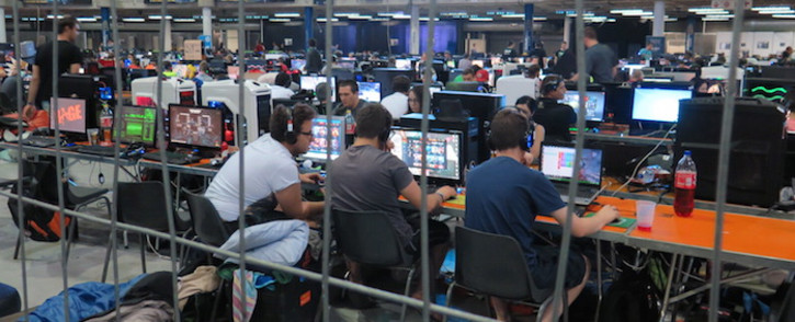 So it is kind of a geek expo in a way with a focus on video games. Picture: Louise McAuliffe/EWN.