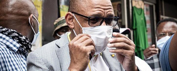 FILE: ANC spokesperson Pule Mabe. Picture: Xanderleigh Dookey/EWN