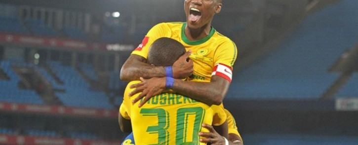 Mamelodi Sundowns won their extended their winning streak when they beat Mpumalanga Black Aces 1-0 last night. Picture: Facebook.com