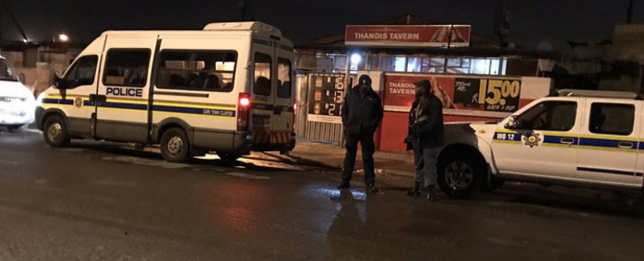 Police conduct an operation in Philippi East, Cape Town, on 12 July 2019. Picture: Lauren Isaacs/EWN.